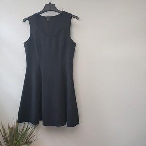 Forever 21 black Skater Dress Homey Comb L